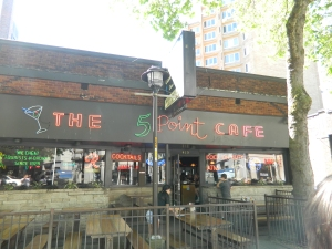 The 5 Point Cafe, Seattle, WA