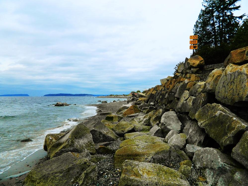 1 Rocks on the beach