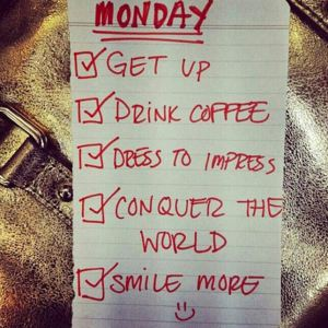 Monday To-Do List